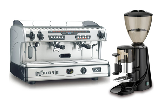 Coffee Machine & Grinder