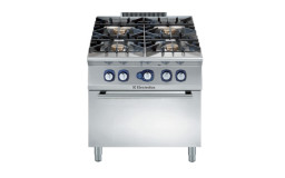 Open Burner Gas Range